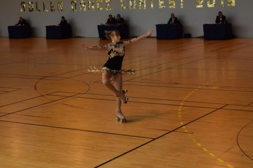Paige competing in free dance in Issy 2015