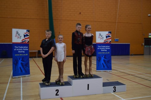 Luke and Kati Espoir couples champions 2015