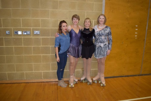 Mel Yvonne and Mel with Ale at championships