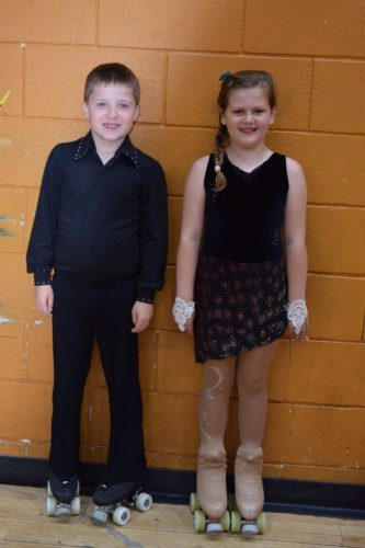James and Louise at Tots Solo dance Championships 2016